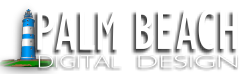 Palm Beach Digital Design Logo
